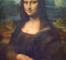 Mona Lisa by Janine Whitling
