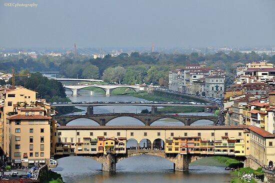 Bridges over the Arno by Karen E Camilleri
