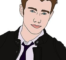 Chris Colfer Drawing by LexyDC