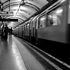 London - The Piccadilly Line Earl's Court 2 by rsangsterkelly