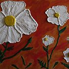 Matilija Poppy Flowers by Guy Wann