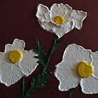 Three Matilija Poppy by Guy Wann