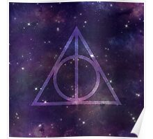 Deathly Hallows in Space Poster