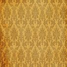 orange grunge damask by netza