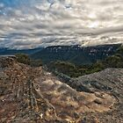 Sunset at Flat Rock by Andrew Walker