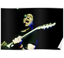Randy Winter - Red Jumpsuit Apparatus Poster