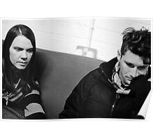 Ronnie Winter & John Hartman - Red Jumpsuit Apparatus Poster