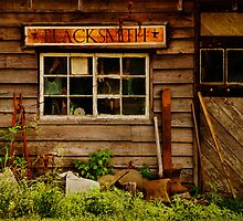 Blacksmith Shop by PineSinger