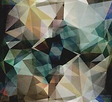 Abstract Grunge Triangles by perkinsdesigns