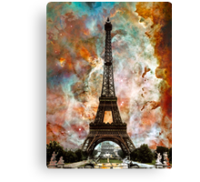 The Eiffel Tower - Paris France Art By Sharon Cummings Canvas Print