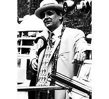 Sylvester McCoy Photographic Print
