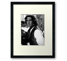 Paul McGann Framed Print