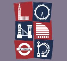 I Love London  by MakoCreative