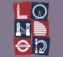 I Love London  by MakoCreative