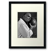 Coroner Woody Strode Framed Print