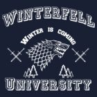 Winterfell University - white by Cimoe