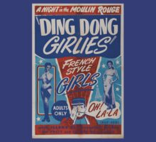 Vintage ding dong girlies by kustom