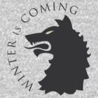 Game of Thrones - house stark sigil & words by housegrafton