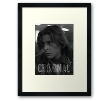 Criminal - The Breakfast Club Framed Print