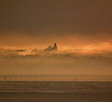 Smoky winter dusk. by Neil MacNeill
