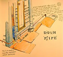 down pipe by Evelyn Bach