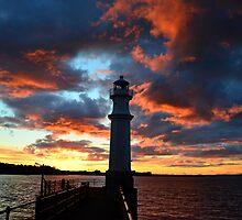 Newhaven sunset.  by Neil MacNeill