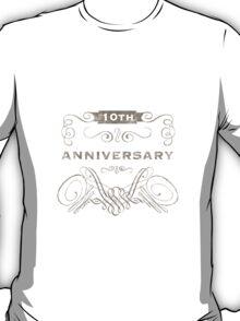 10th Anniversary (Vintage)  T-Shirt