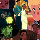 princess and the frog by emilyg23