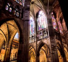Catedral de Santa Maria de Regla de Leon by vribeiro