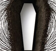 Death Magnetic iPhone Case by Design-Magnetic