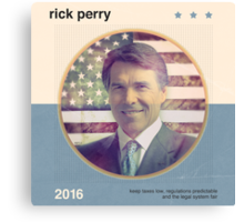 Rick Perry 2016 Canvas Print