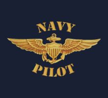 Navy Pilot Wings T-shirt by Walter Colvin