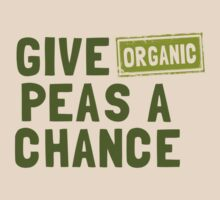 Give Organic Peas A Chance by Jenn Inashvili
