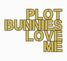 Plot Bunnies Love Me - Orange by vampyremuffin