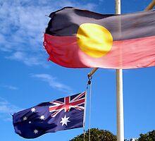 Aborigine & Australian by V1mage