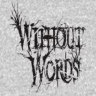 Without Words v-neck by Undernhear