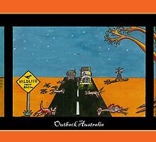 Outback Australia by David Fraser