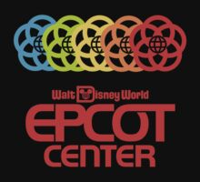 Rainbow Epcot Retro Red by AngrySaint