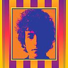 Bob Dylan Psychedelic Poster by retrorebirth