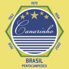 Brasil Canarinho by Calum Margetts Illustration