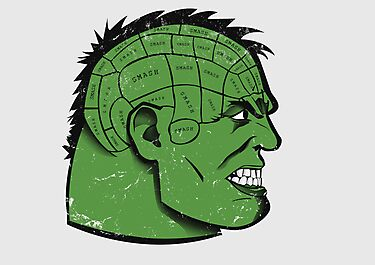 What's On A Hulk's Mind by Alex Clark