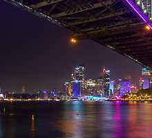 Sydney at Night Vivid 2013 by LeeGatland