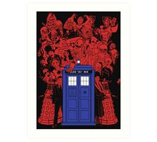 They Have The Phone Box... Art Print