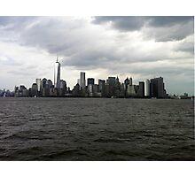 Manhattan Skyline Photographic Print