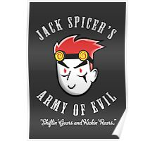 Jack Spicer's Army of Evil Poster