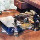 Wheeler and Wilson Sewing Machine Circa 1850 by Susan Savad