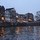 Canal in Amsterdam by Michael & Alyssa Straus