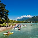 Lake Annecy in summertime by Konstantinos Arvanitopoulos