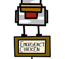 Emergency Chicken by CodyStanton