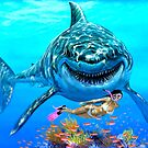 SPEED PAINTING SHARK BAIT by Wayne Dowsent